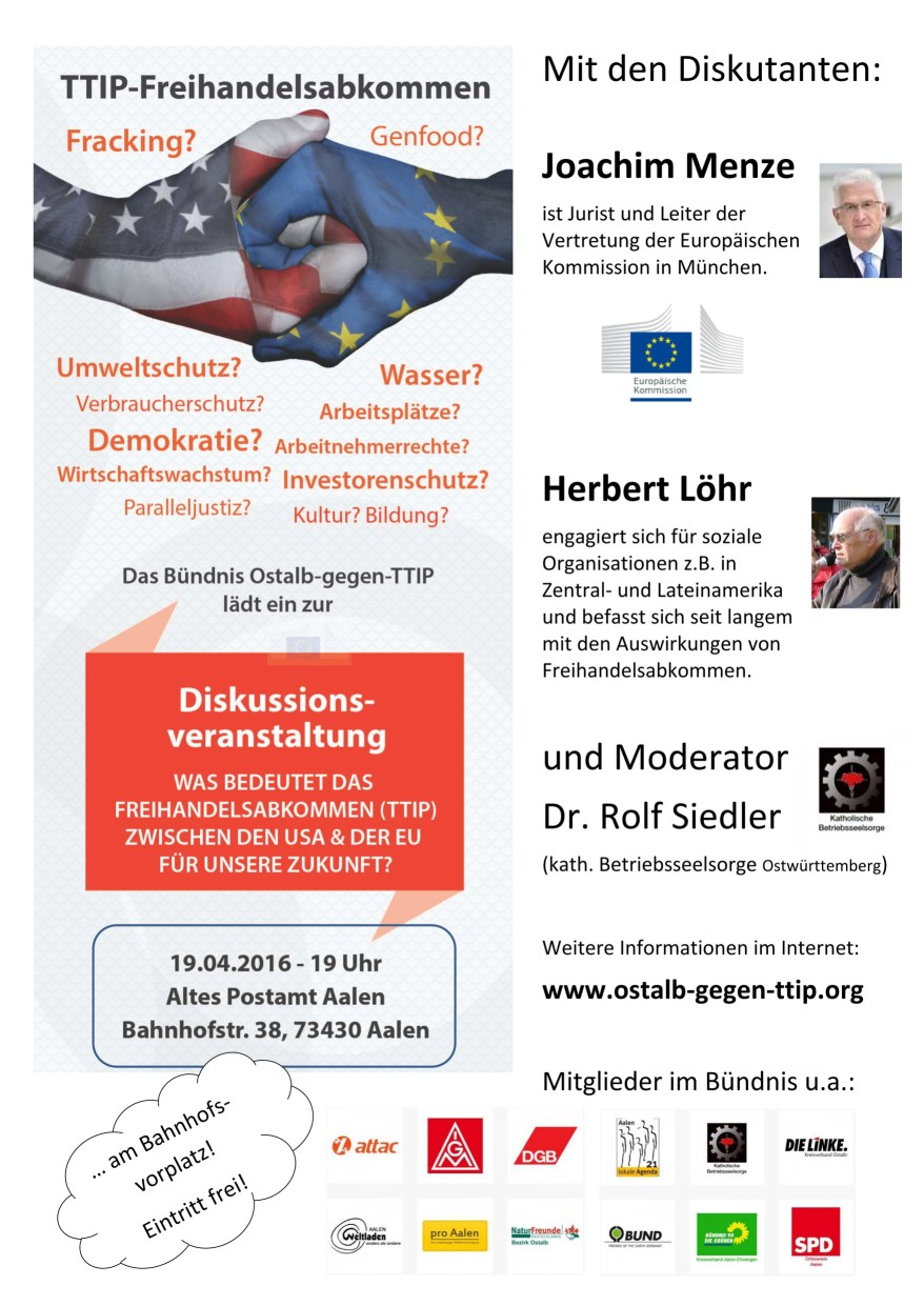 Plakat TTIP 19.04.2016